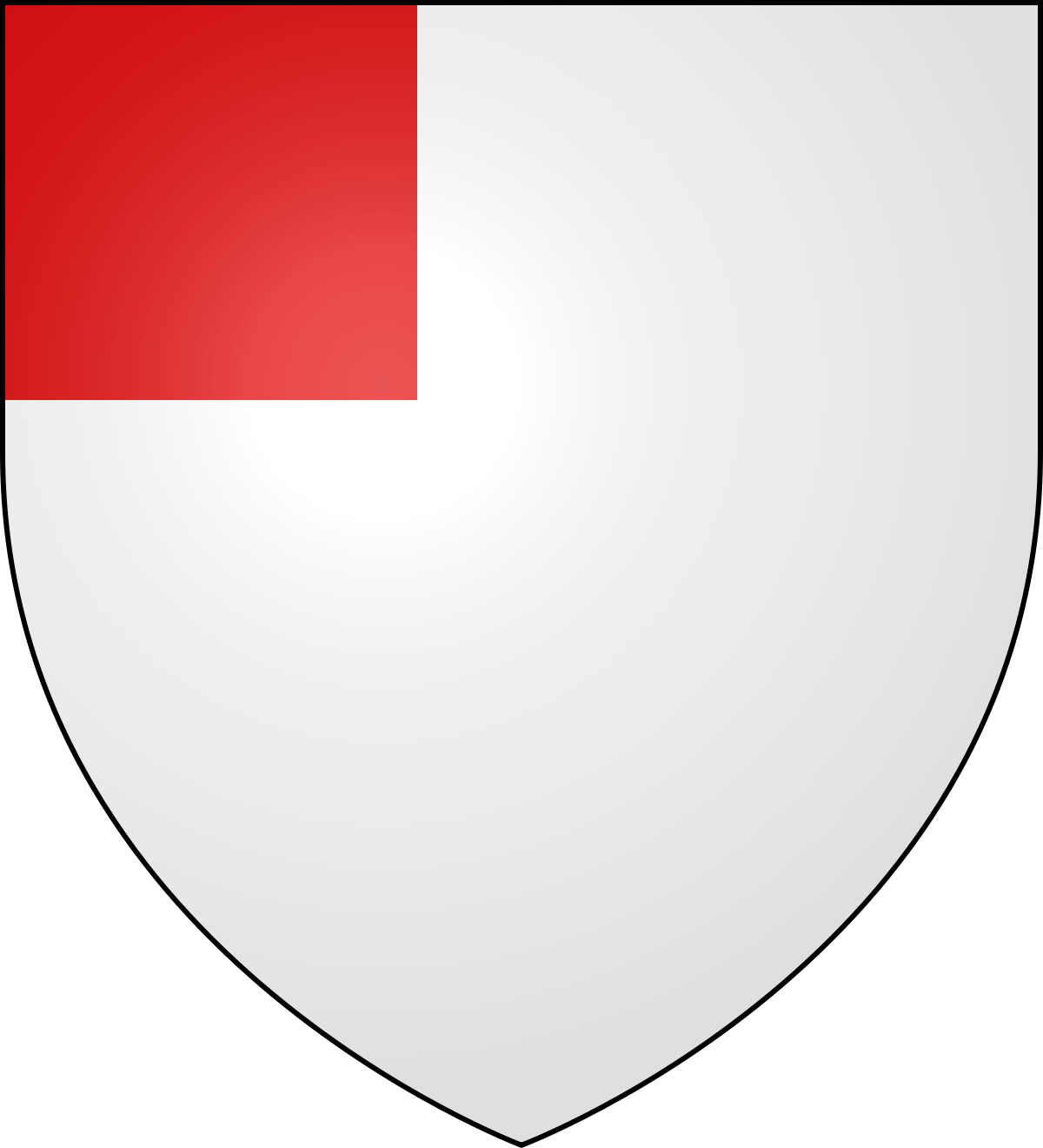 Shield crest png. Canton heraldry wikipedia