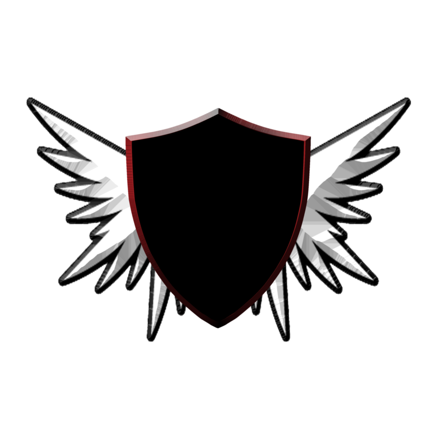Shield with wings png. And playing around photoshop