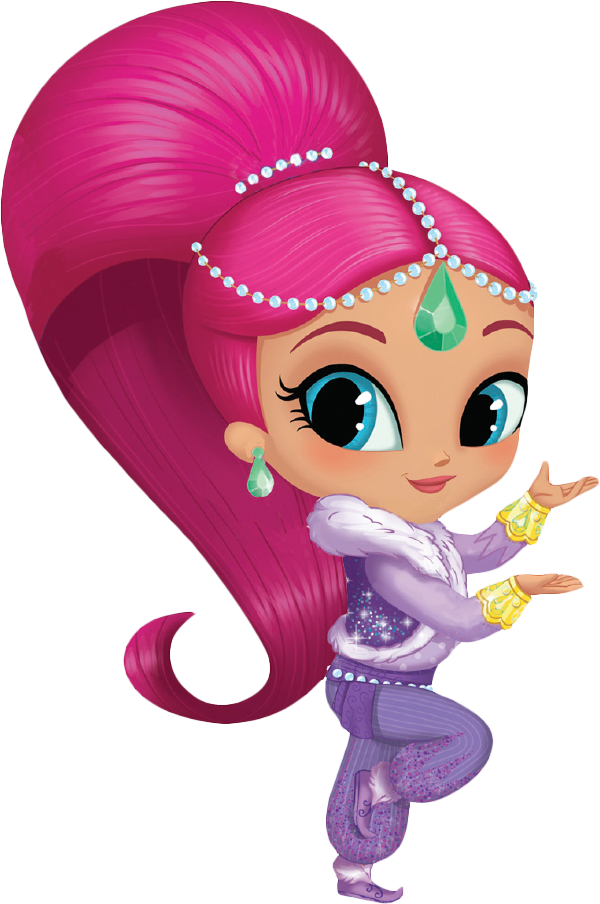 Shimmer and shine clipart. Am greetings ornament