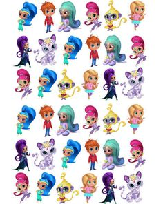 Shimmer and shine clipart nahal. Images instant download cutouts