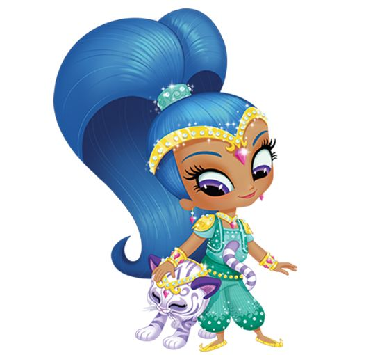 Shimmer and shine shimmy