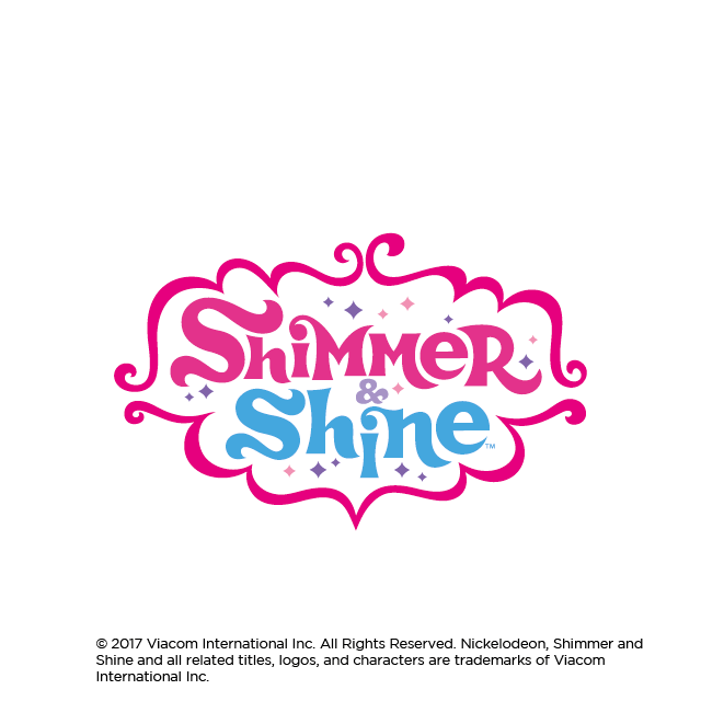 Shimmer and shine logo png. Super surprise bip candy