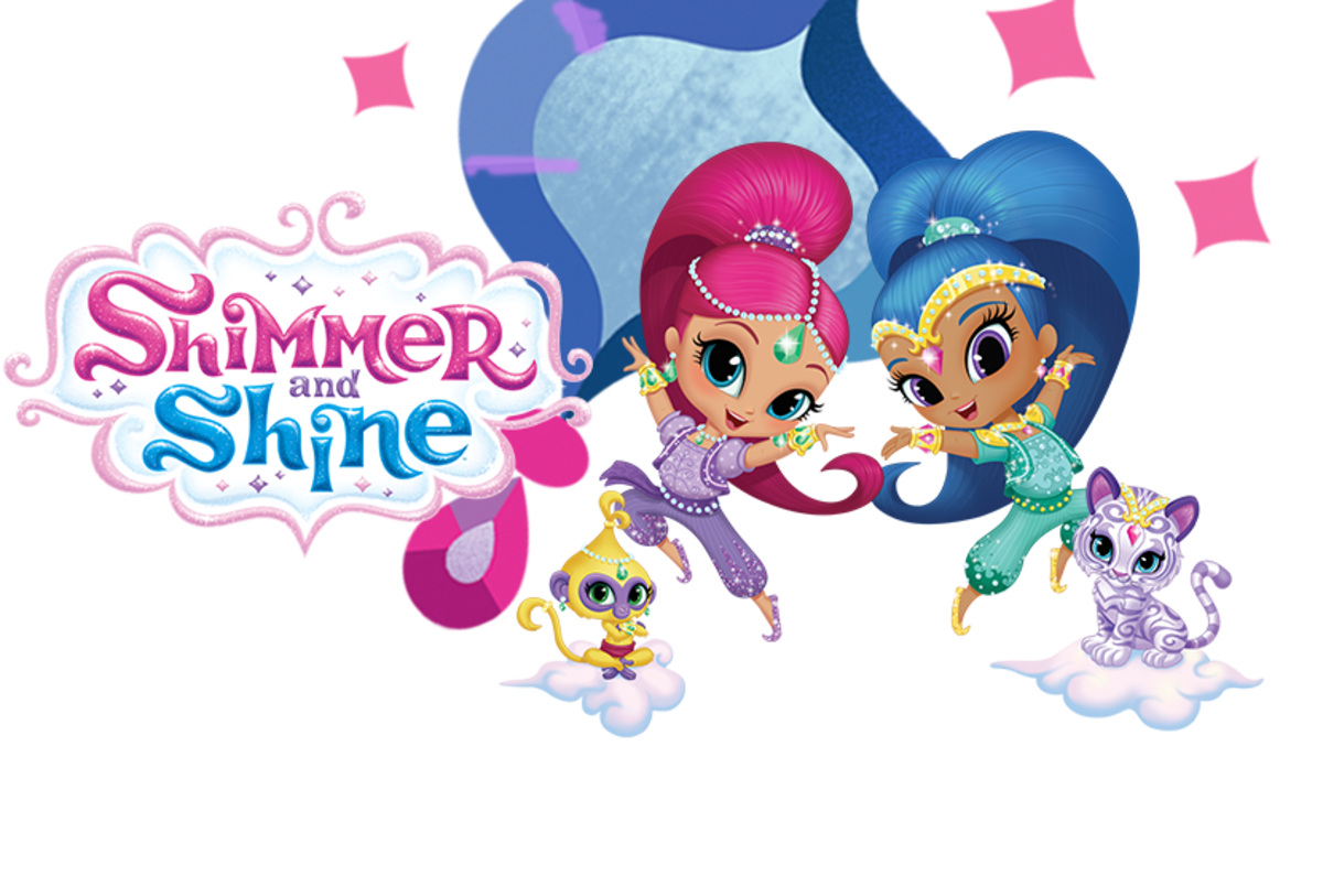 Shimmer and shine logo png. Nickelodeon on why pre