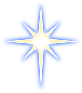 Transparent burst shining star. Free cliparts download clip