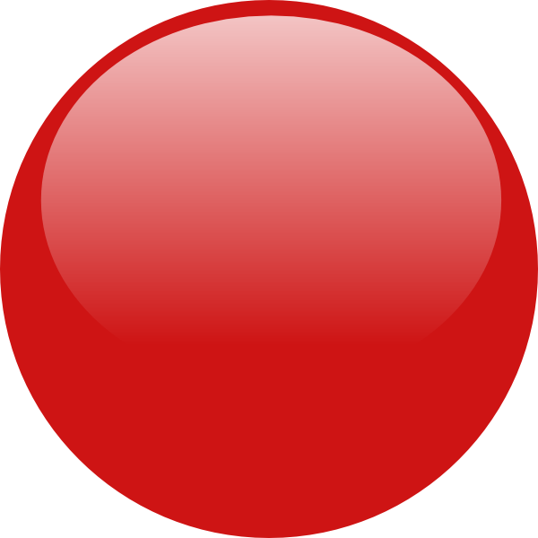 Png red circle. Glossy icon button clip