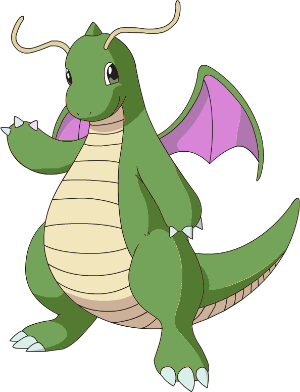 shiny dragonite png