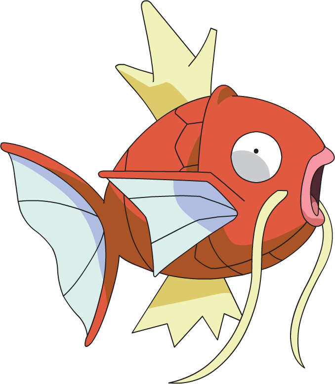 Shiny magikarp png. Pok dex stats moves