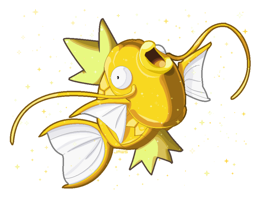 magikarp transparent ancient