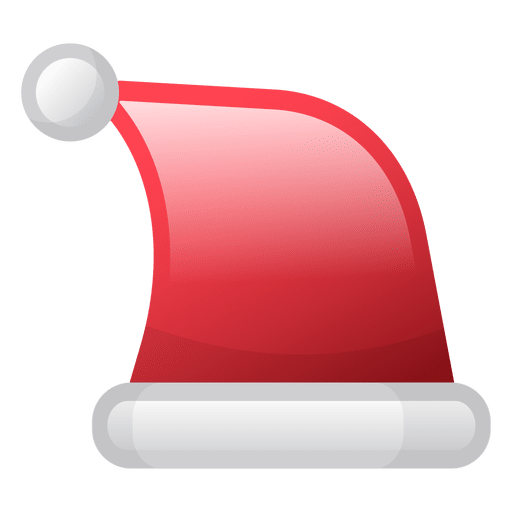 Shiny transparent. Christmas hat icon png