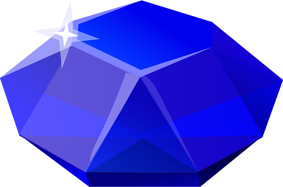 Sapphire png image purepng. Vector crystal gemstone image freeuse library