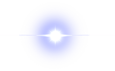 Shiny transparent light shine. Png images all