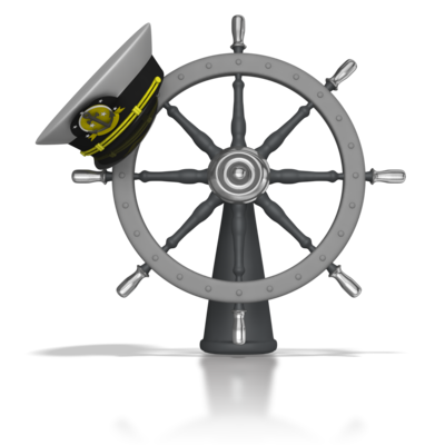 wheel transparent captain