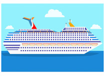 Free boats and ships. Boating clipart cruise vector transparent stock