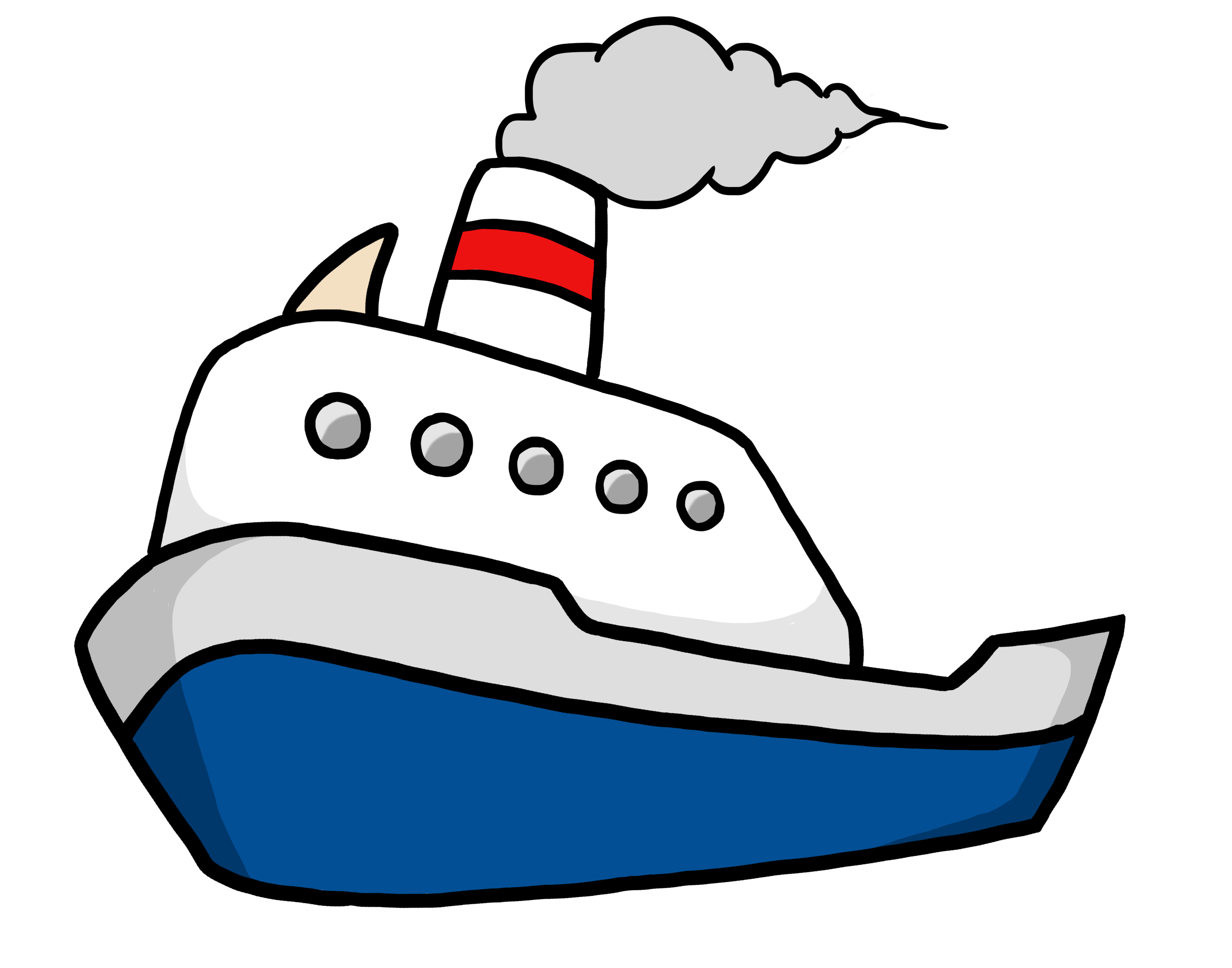 Boat clipart. Ship tour for