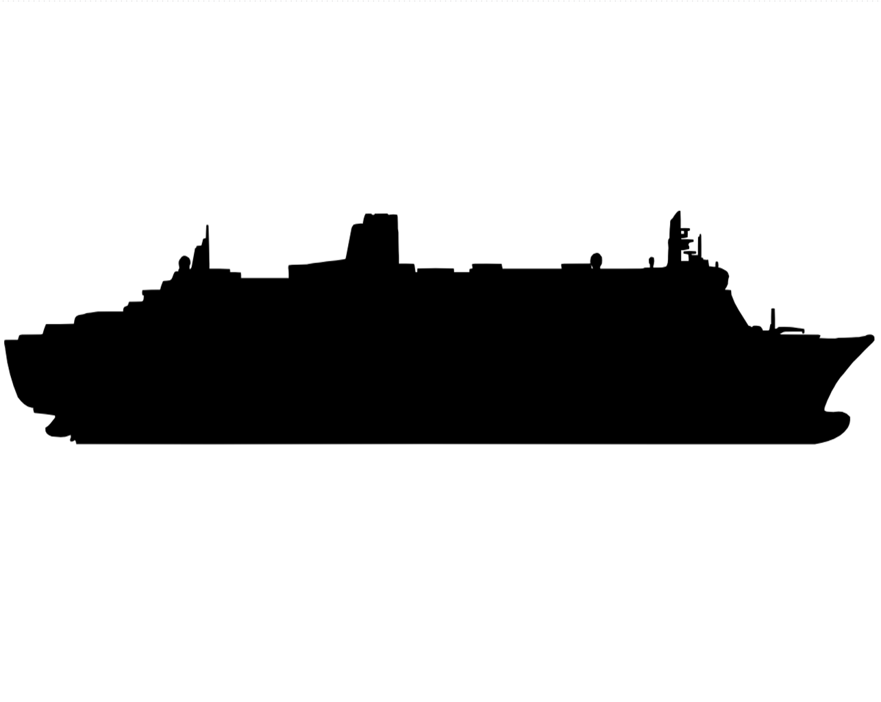 Ship clipart side view. File cruise png wikimedia