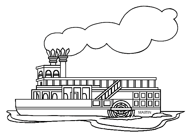 Ship clipart steamboat. Free cliparts download clip