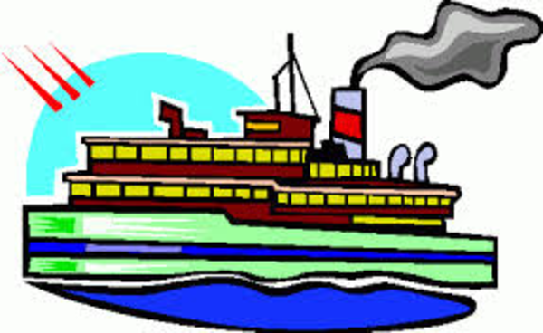 Ship clipart steamboat. By free images at