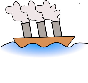 Ship clipart steamboat. Devils lake view living