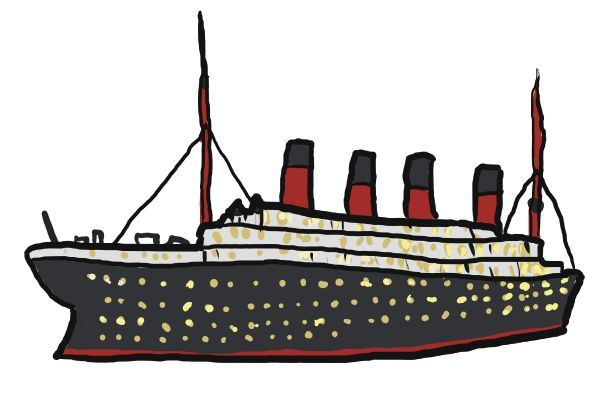 Ship clipart steamboat. Cargo at getdrawings com