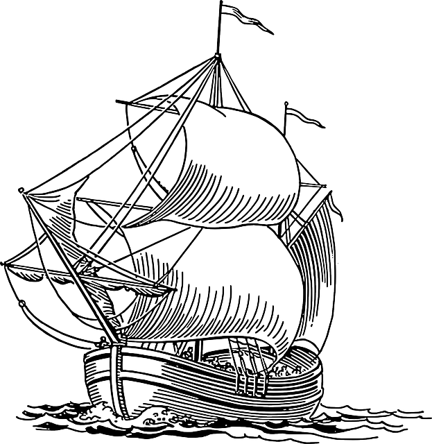Ship drawing png. Sailing line at getdrawings