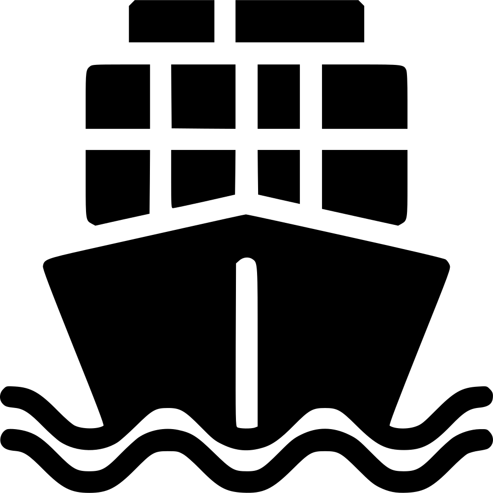 Ship icon png. Cargo svg free download