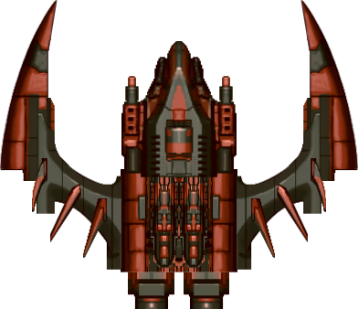 2d space ship png. Spaceship fighter opengameart org