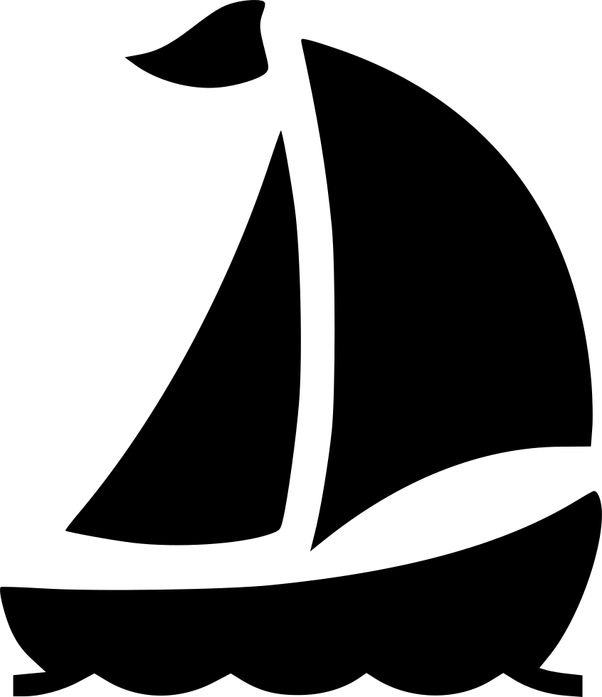 Ship svg. Boat yacht sail travel