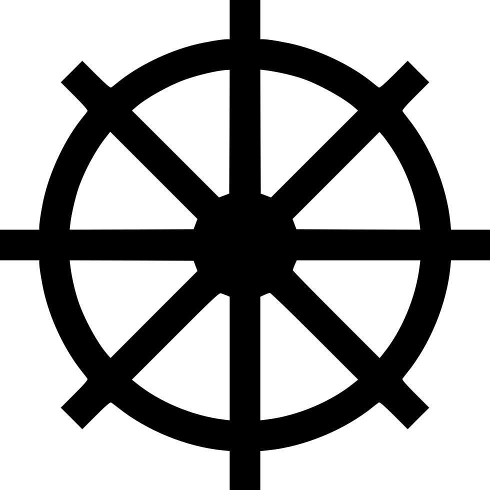 Ship svg wheel. Navigate png icon free