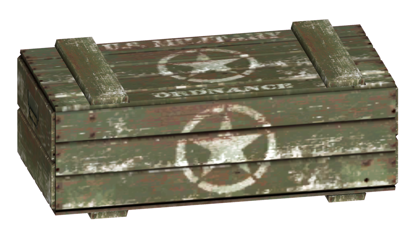 Shipping crate png. Image military fallout wiki
