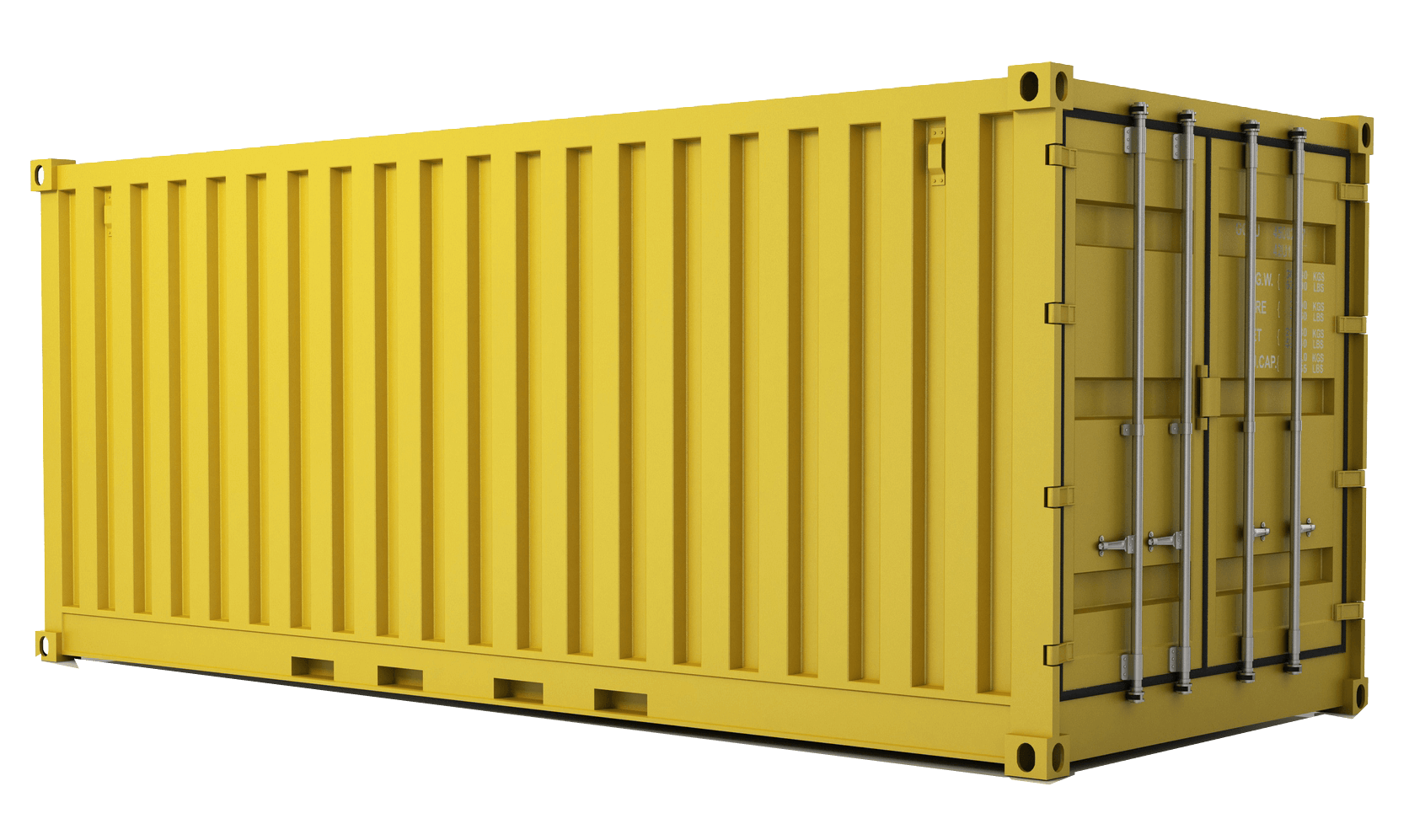Shipping crate png. Container door opening trucker