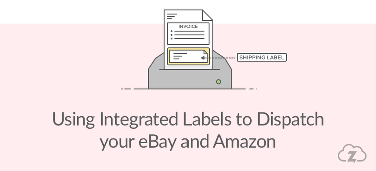 Shipping label png. Using integrated labels to