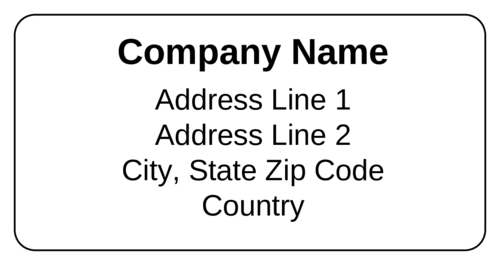 Shipping label png. Standard templates ol onlinelabels