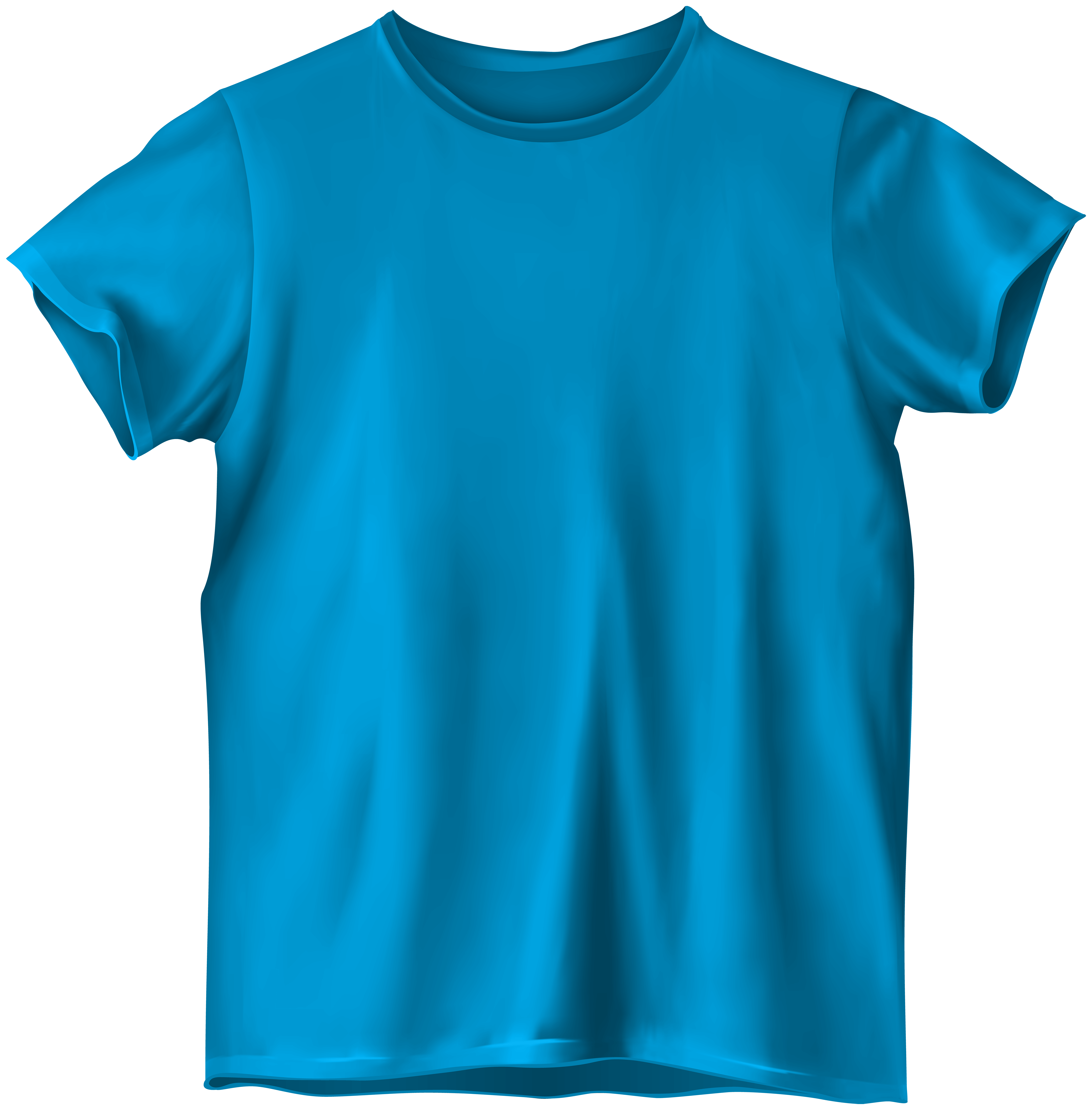 Blue t png best. Shirt clipart svg library