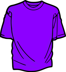 T purple clip art. Shirt clipart jpg transparent stock
