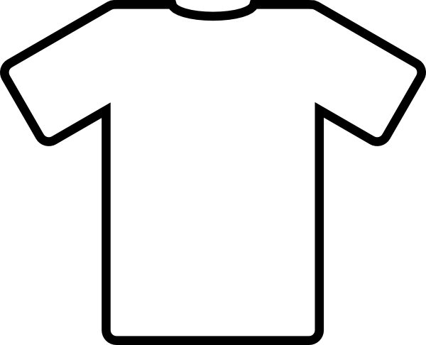 Lighter clip kid. Drawn soccer jersey white