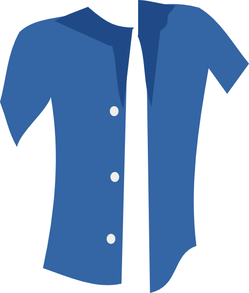 Shirt clipart blue shirt. I royalty free public