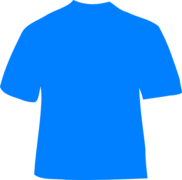 Shirt clipart blue shirt. Light clip art at