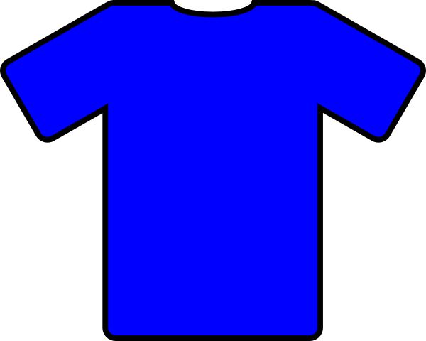 Shirt clipart blue shirt. T clip art at