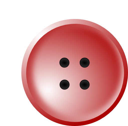 Clip buttons shirt. Red button clipart i
