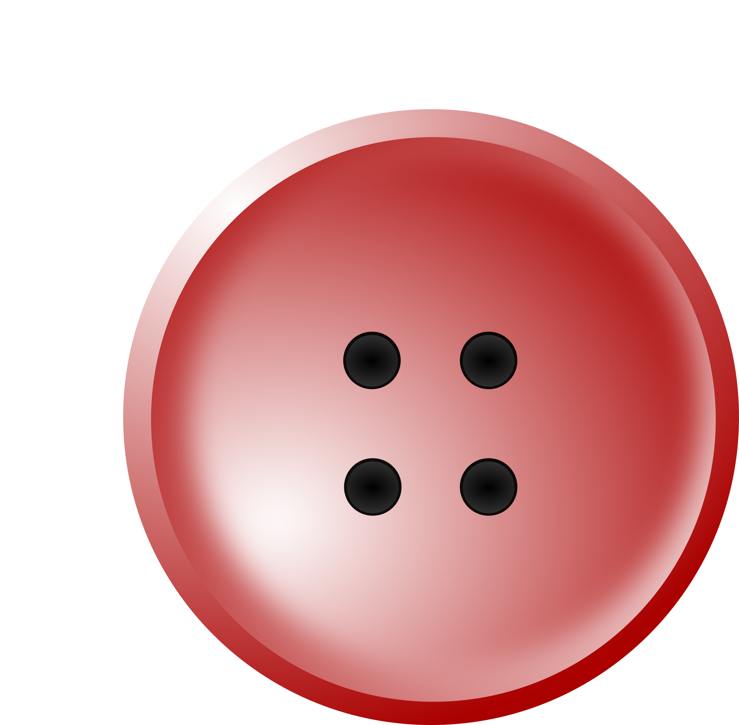 Shirt buttons png. Clipart red button big