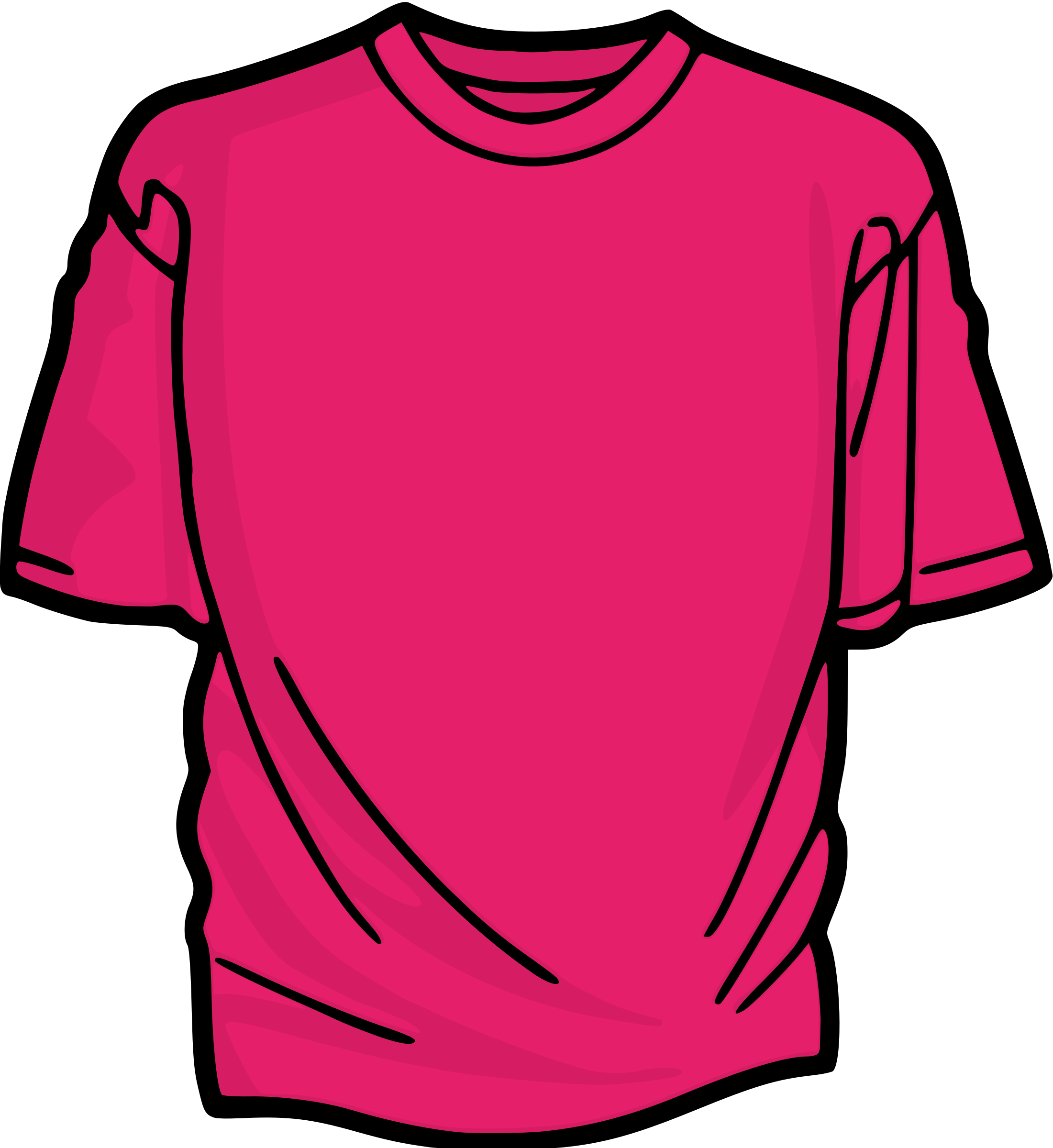Pink t big image. Shirt clipart neon shirt picture library