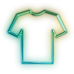 Shirt clipart neon shirt. Clothes