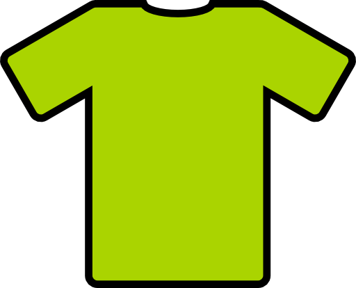 How to embed the color space png shirt print. Green t clipart i