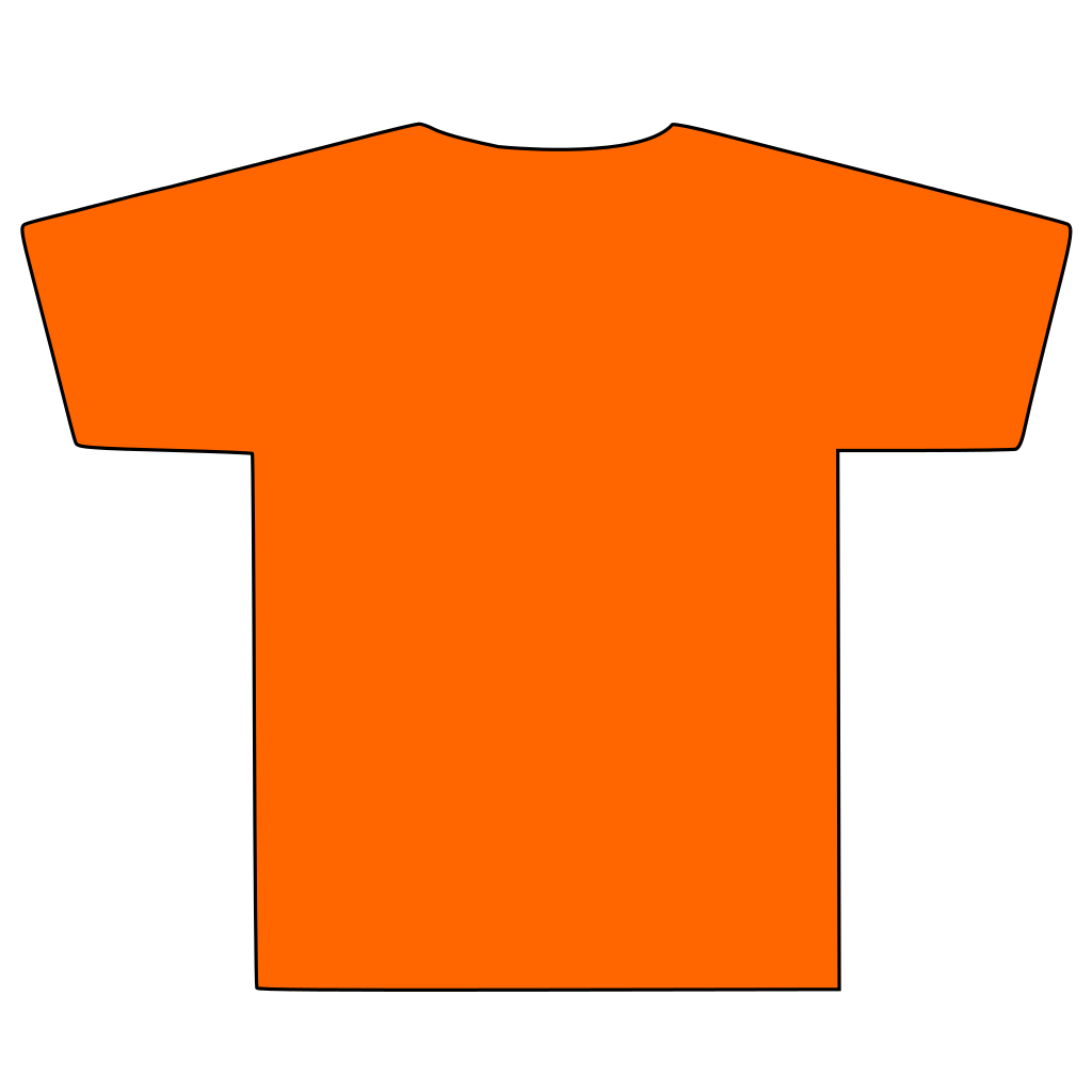 File t silhouette wikimedia. Shirt clipart svg png