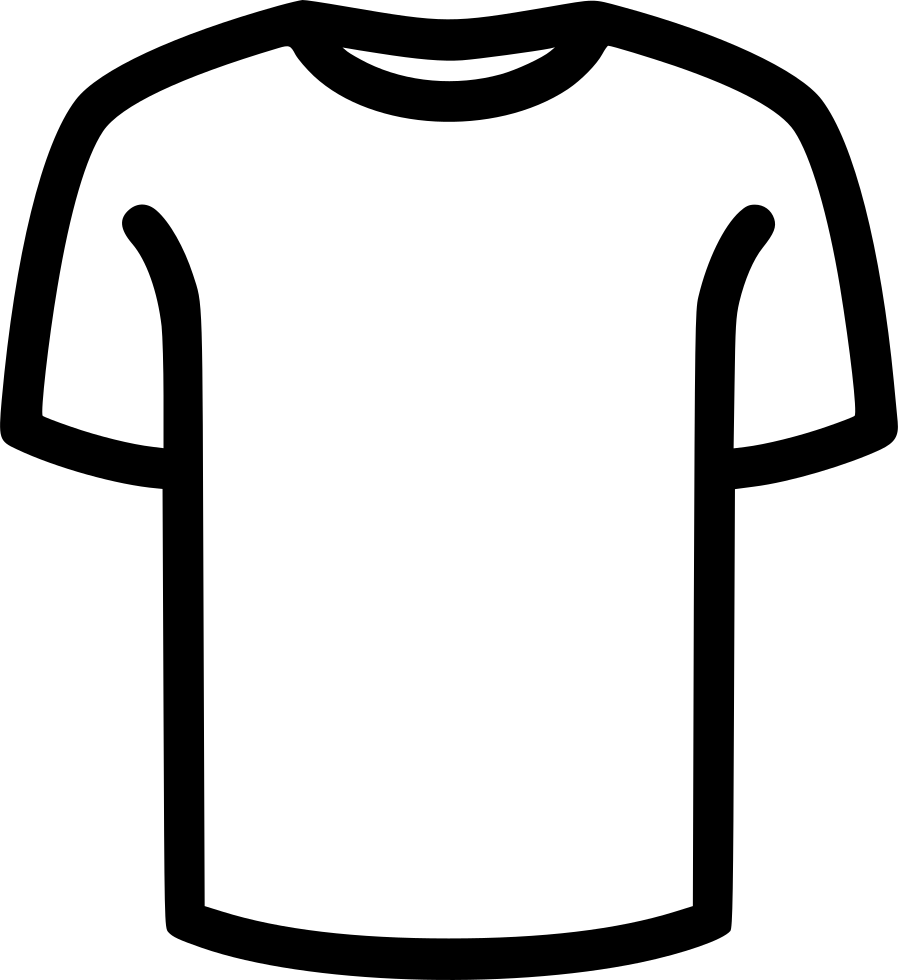 T png icon free. Shirt clipart svg picture black and white download