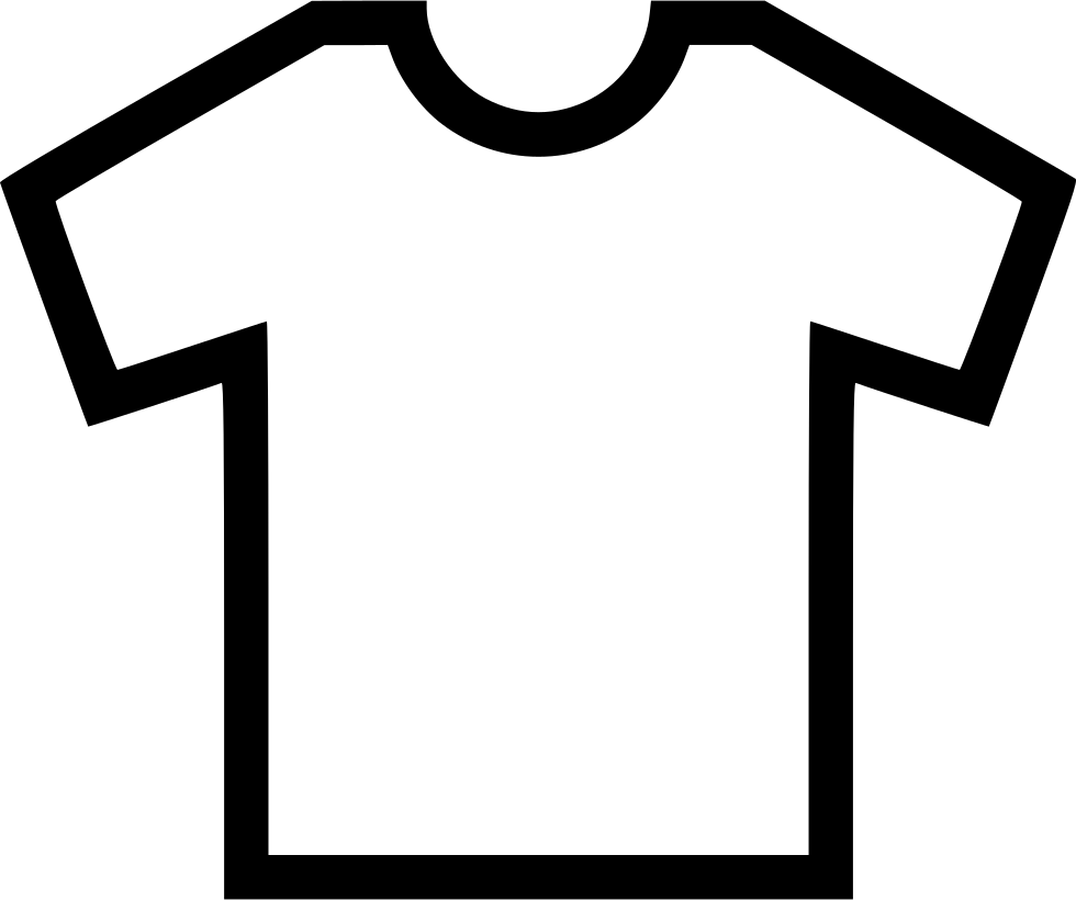 T png icon free. Shirt clipart svg black and white download