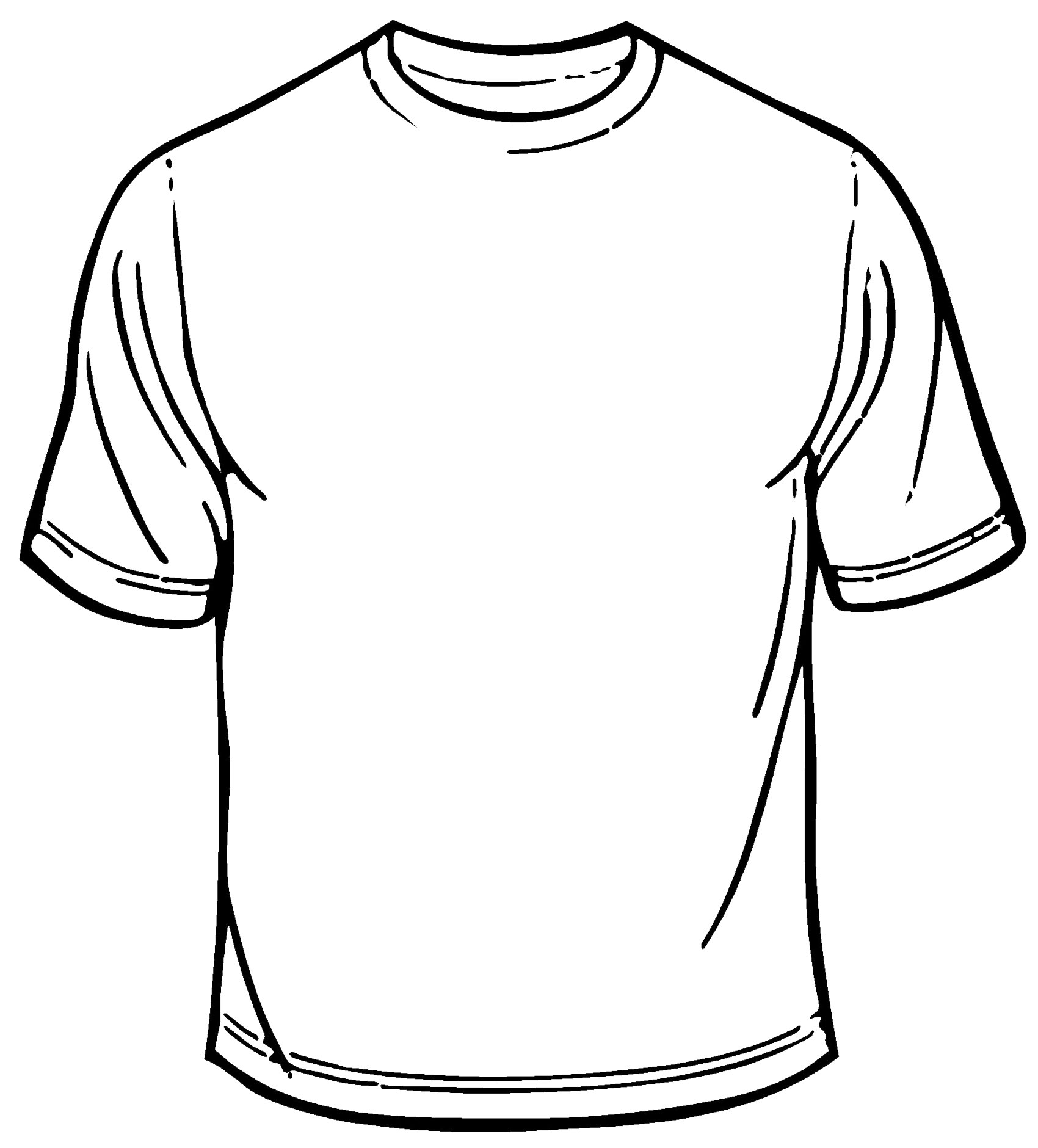 Shirt clipart transparent background. Collection blank t png