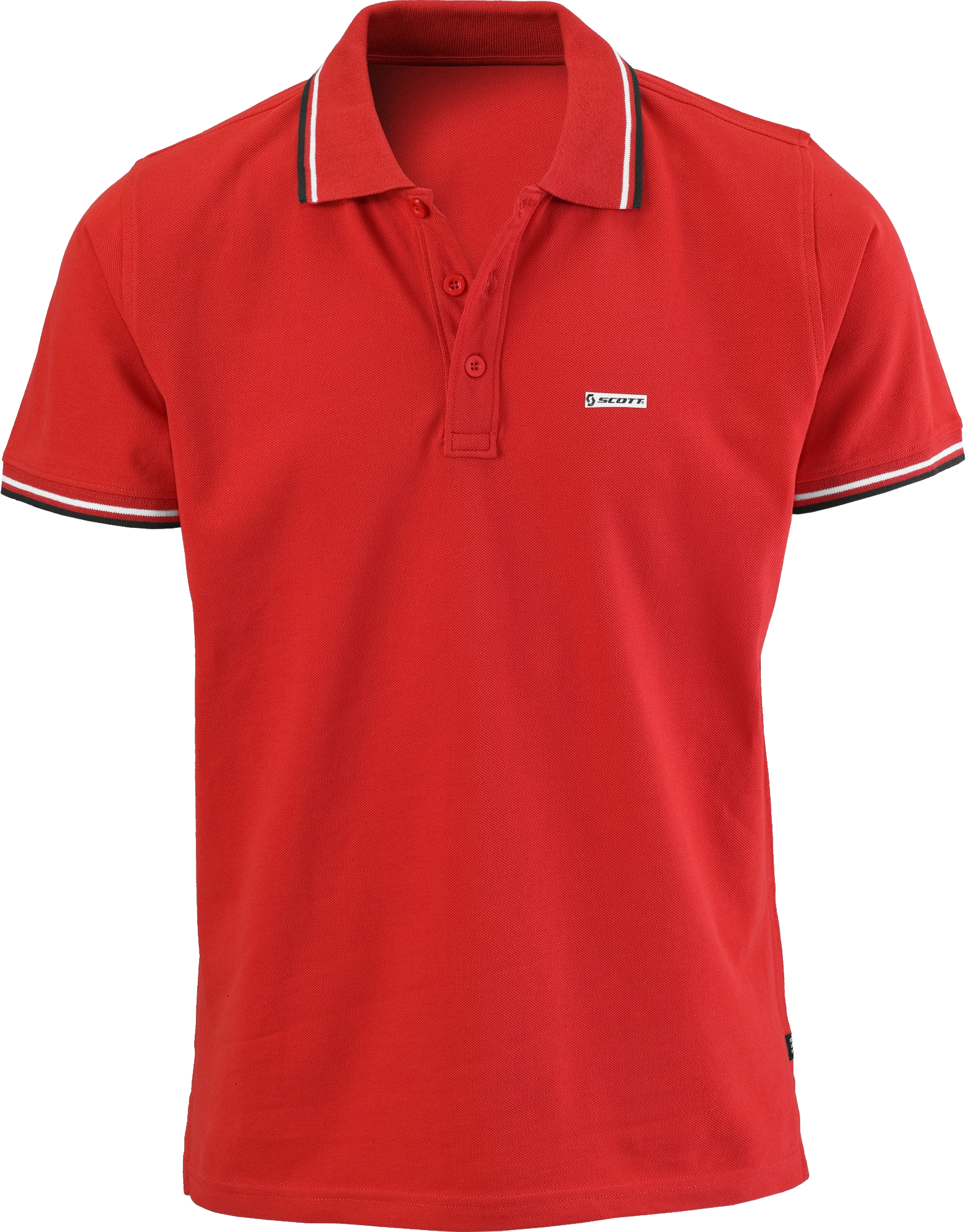 Shirt collar png. Red men s polo