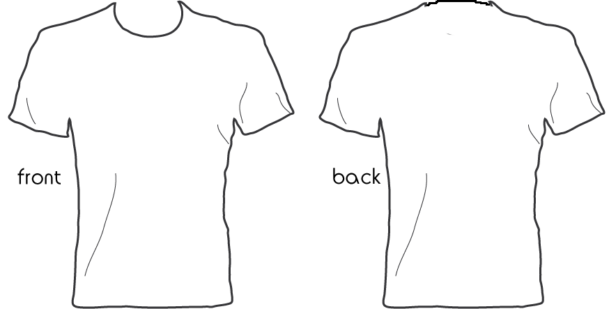 Shirt outline png. Collection of t