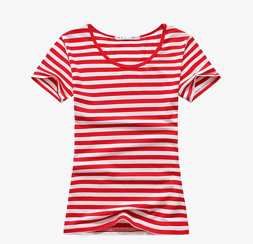 Clothes clipart striped shirt. The red sea gules